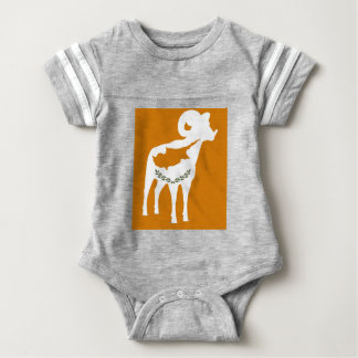 CYPRUS NATIONAL RAM BABY BODYSUIT