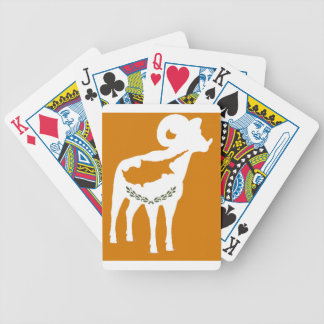 CYPRUS NATIONAL RAM BICYCLE PLAYING CARDS