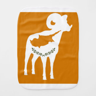 CYPRUS NATIONAL RAM BURP CLOTH
