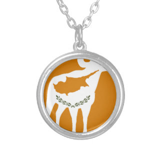 CYPRUS NATIONAL RAM SILVER PLATED NECKLACE