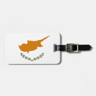 Cyprus National World Flag Luggage Tag