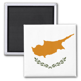 Cyprus National World Flag Magnet