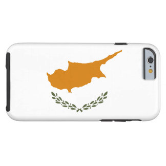 Cyprus National World Flag Tough iPhone 6 Case