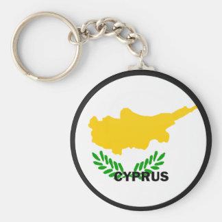 Cyprus Roundel quality Flag Key Ring