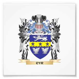 Cyr Coat of Arms - Family Crest Photograph