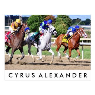 Cyrus Alexander, Mr.Jordan & Res Judicata Postcard