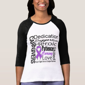 Cystic Fibrosis Caregivers Collage Tshirt