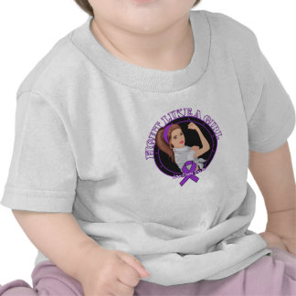 Cystic Fibrosis Fight Like A Girl Modern Rosie Shirts
