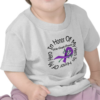 Cystic Fibrosis In Honor Of My Hero T Shirts