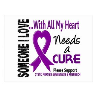 Cystic Fibrosis Needs A Cure 3 Postcard