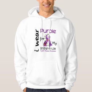 Cystic Fibrosis Wear Purple For My Brother-In-Law Hoodie