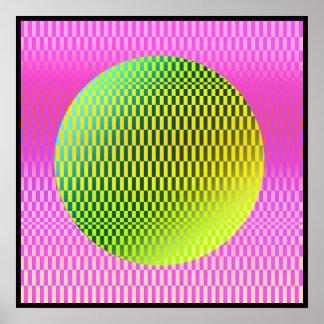 Cytherea Op-Art  Poster