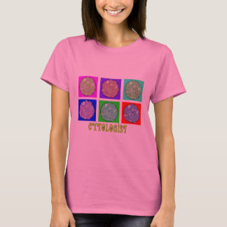 Cytologist Gifts Cells in Petrie Dishes Design T-Shirt