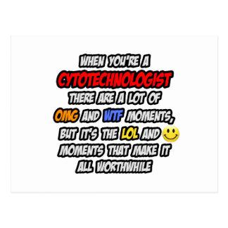 Cytotechnologist .. OMG WTF LOL Postcard
