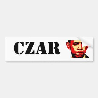 CZAR bumper sticker