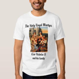 Czar Nicholas II and Family Tee Shirts