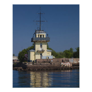 Czar Peter the Greats Naval fortress town Poster