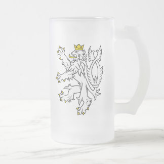 Czech Bohemian Lion Mug