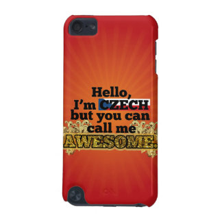Czech, but call me Awesome iPod Touch (5th Generation) Cases