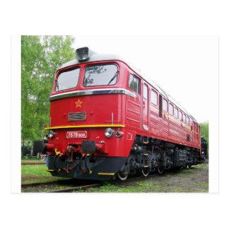 Czech Diesel Postcard