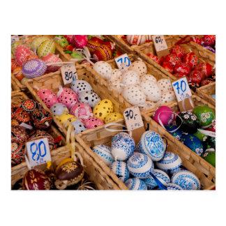 Czech Easter Eggs Postcard