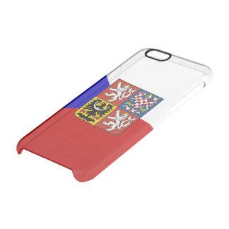 Czech flag clear iPhone 6/6S case