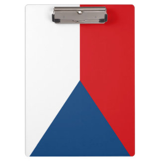 Czech Flag Clipboard