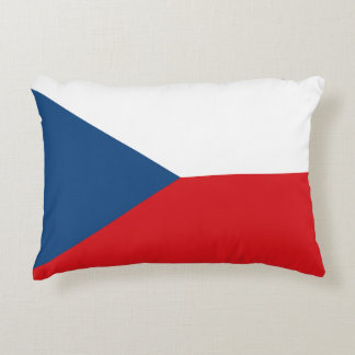 Czech Flag Decorative Cushion
