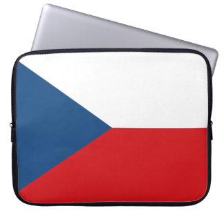 Czech Flag Laptop Sleeve
