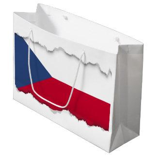 Czech Flag Large Gift Bag