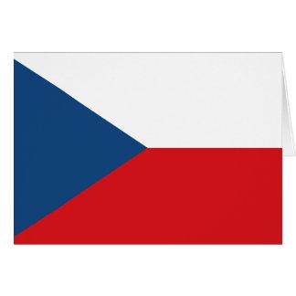 Czech Flag Note Card