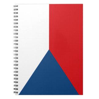 Czech Flag Notebook