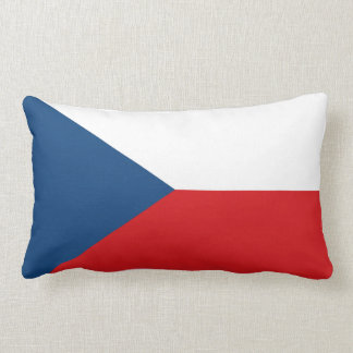 Czech flag pillow