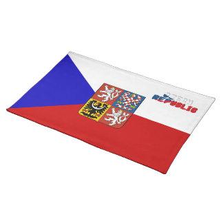 Czech flag placemat