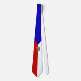 Czech flag tie