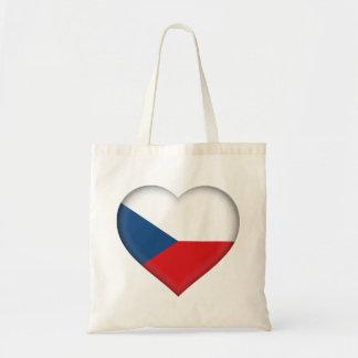 Czech Flag Tote Bag