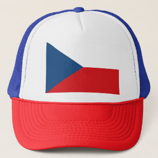Czech Flag Trucker Hat