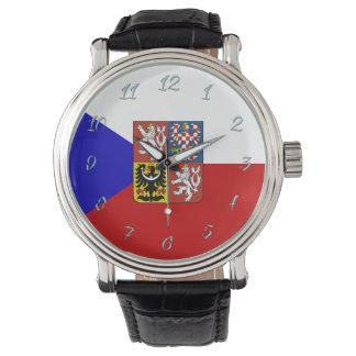 Czech flag watch