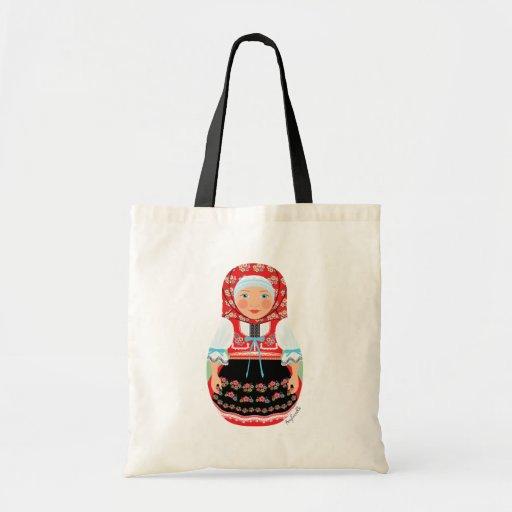 Czech Girl Matryoshka Bag
