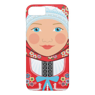 Czech Girl Matryoshka Case