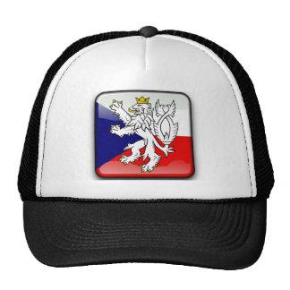 Czech glossy flag cap