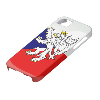 Czech glossy flag iPhone 5 cases