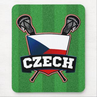 Czech Lacrosse český lakros Mouse Pad