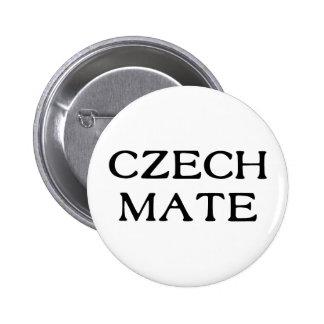 Czech Mate 6 Cm Round Badge