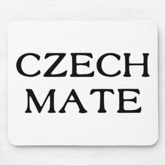 Czech Mate Mouse Pad