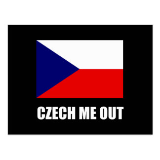 Czech Me Out Postcard