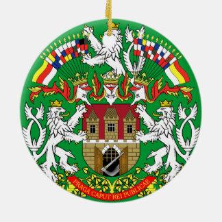 Czech Prague* Christmas Ornament