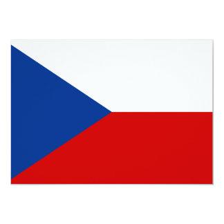 Czech Republic 13 Cm X 18 Cm Invitation Card