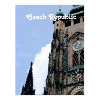 Czech Republic Architecture Postcard