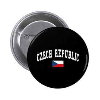 CZECH REPUBLIC PINBACK BUTTON